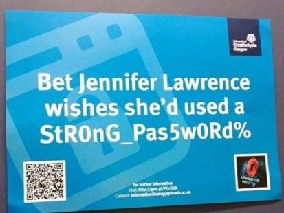 University under criticism for 'victim blaming' in Jennifer Lawrence posters
