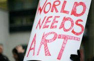 We want arts funding and we want it now